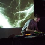 Kline @ New Forms Festival 13, Vancouver BC, 2013. Photo by Ash Tanasiychuk for VANDOCUMENT