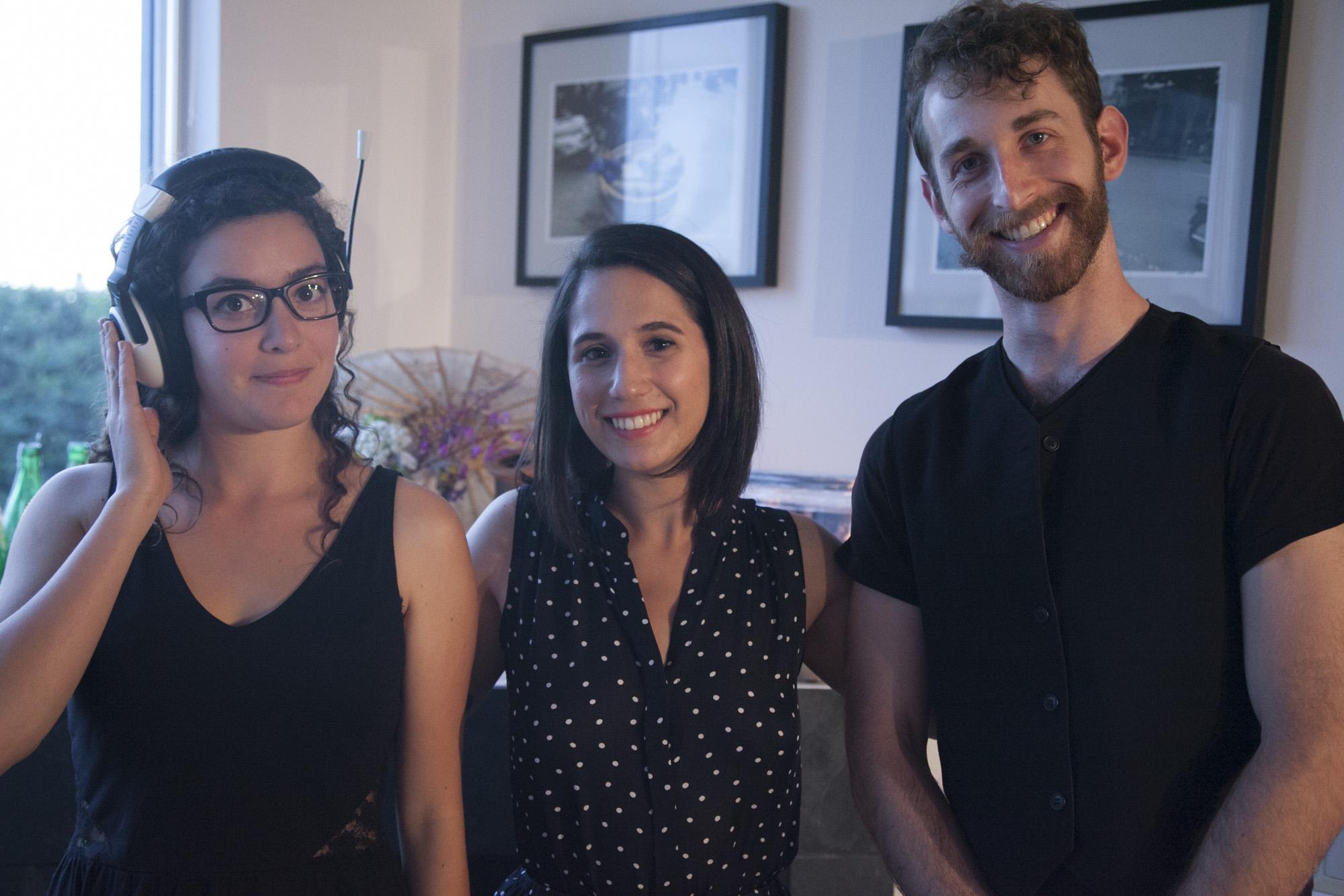 Annie Therrien-Boulos, Sarah Faye Bernstein & Daniel O'Shea – Photo by Harley Spade
