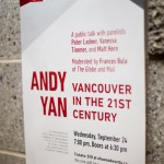 "Andy Yan ""Vancouver in the 21st Century"" @ SFU W, Vancouver BC, 2014. Photo by Harley Spade for VANDOCUMENT"