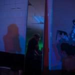 DJ Partymartyr @ Red Gate Arts Society. Photo by Andi Icaza-Largaespada