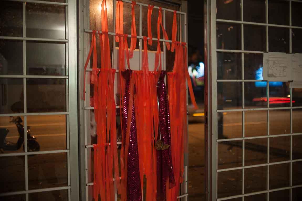 sweaty bones x art trap @ Red Gate Arts Society, Vancouver BC 2014. Photo by Andi Icaza-Largaespada for VANDOCUMENT