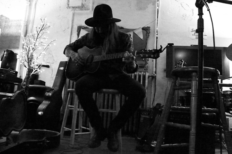 Ty Collins at SOFAR sounds, Vancouver BC 2014. Photo by Sarah Faye for VANDOCUMENT