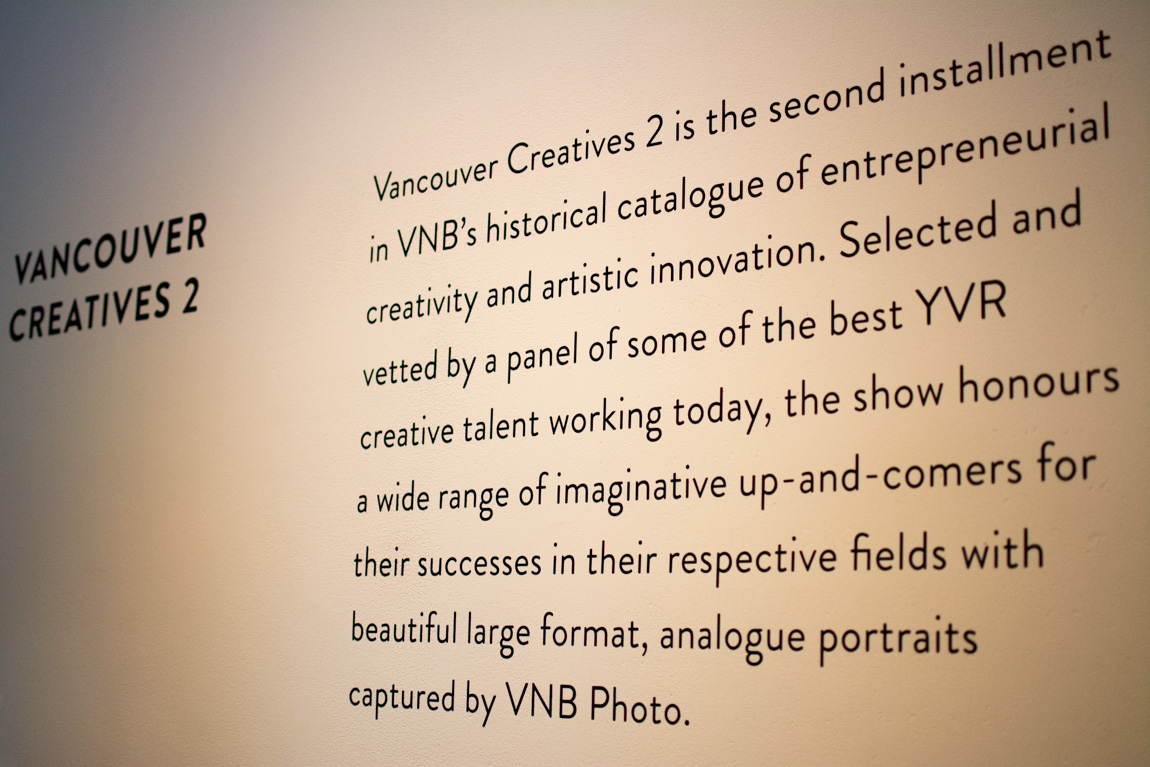 Vancouver Creatives Two @ Make, Vancouver BC, June 2015. Photo by Ash Tanasiychuk for VANDOCUMENT
