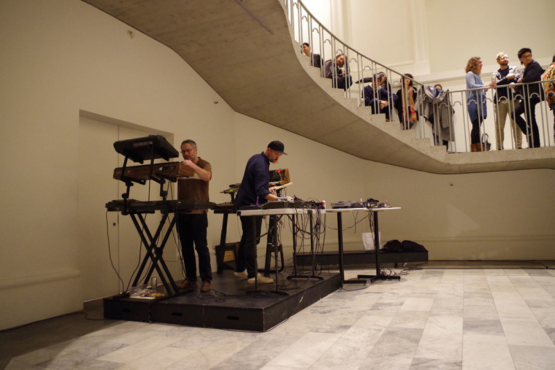Kensington Gore playing at the issue 01 launch of Pythagoras Records at the Vancouver Art Gallery
