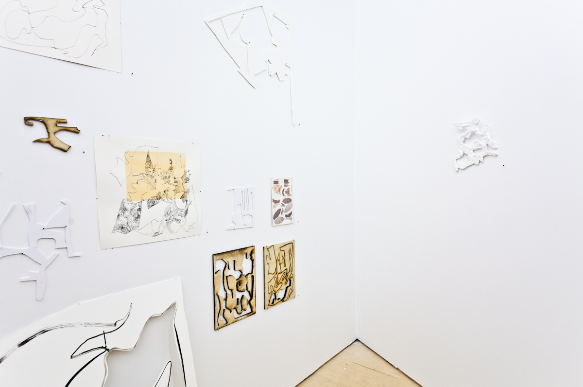 Scrap Map by Sarah Davidson @ Project Space. Photo by Lukas Engelhardt