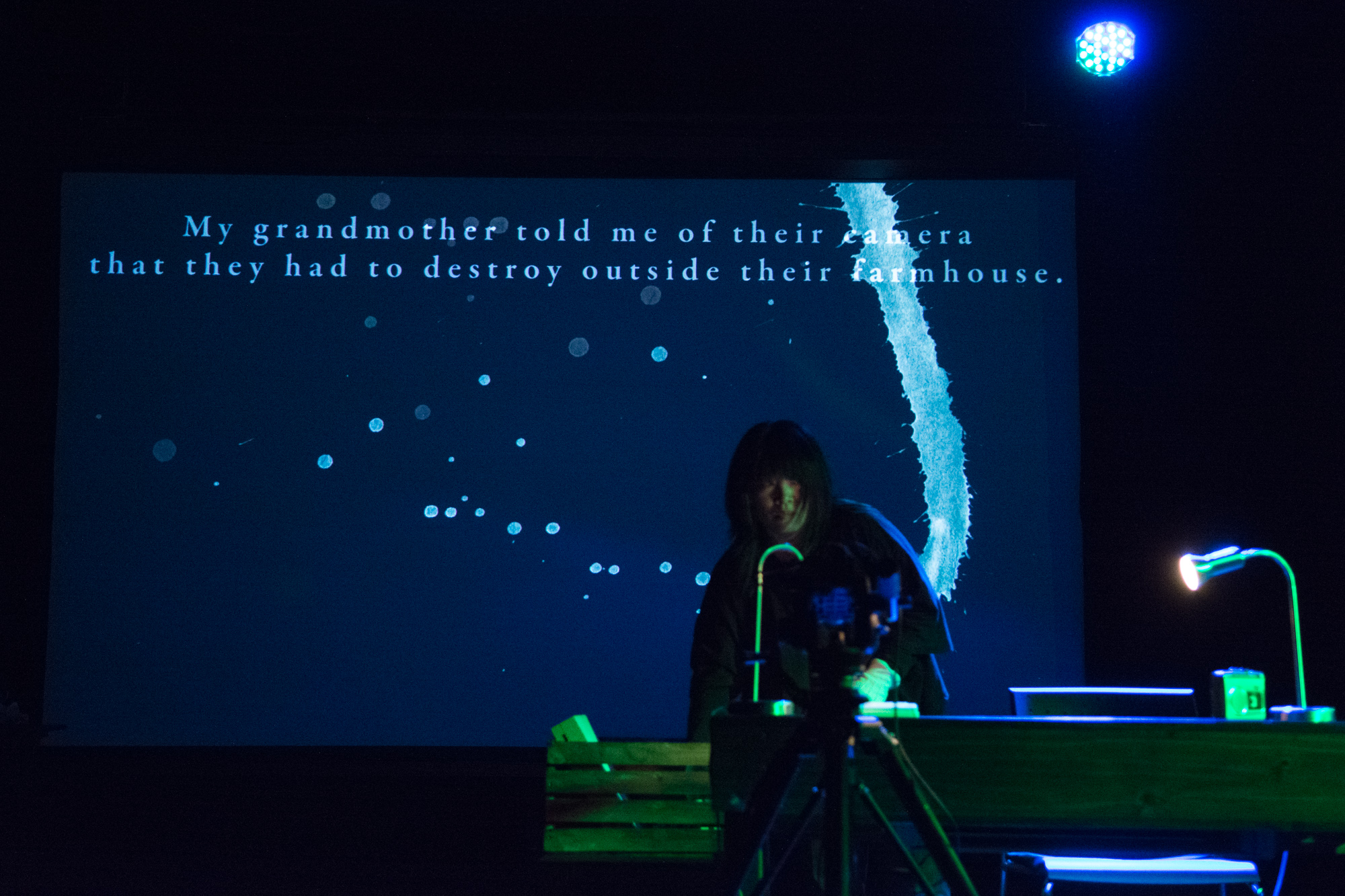 Cindy Mochizuki, Compass, performance at Digital Carnival 2017. Ash Tanasiychuk photo