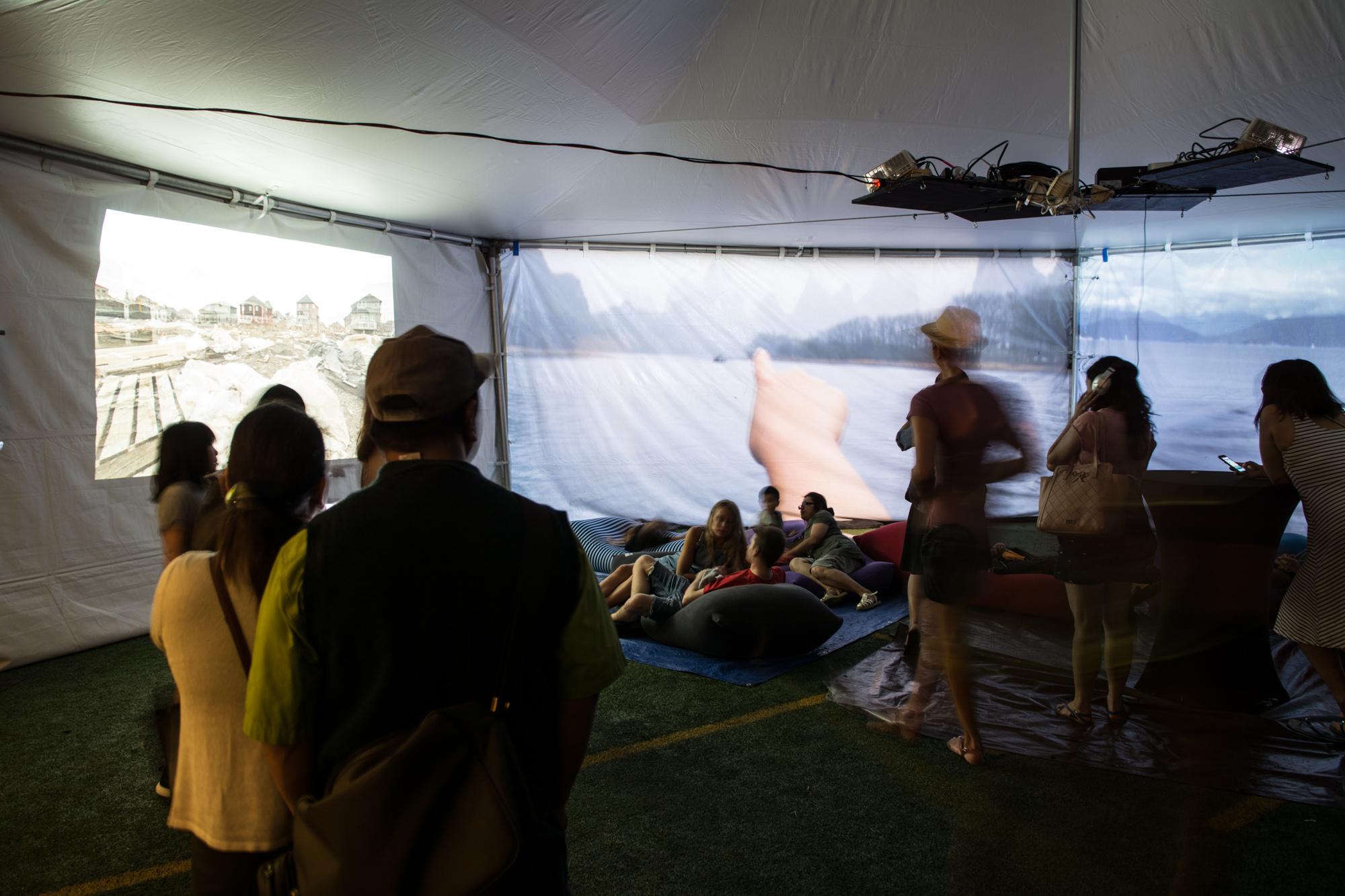 Chill Tent at Digital Carnival 2017. Ash Tanasiychuk photo.
