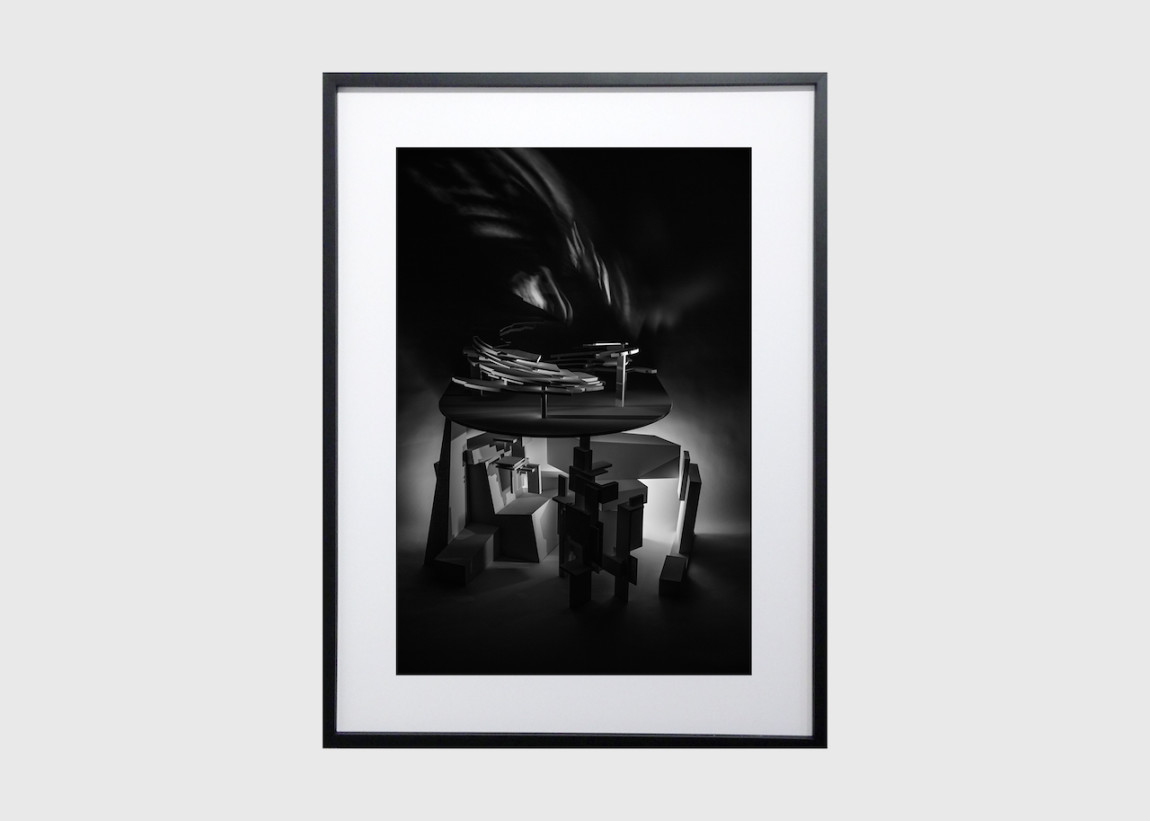 Keith Mitchell, Abstract Form #1 KBV.AF1.17.4 (Study), 2017 Giclée print, edition of 10 + 2AP, 11 x 16.5 inches unframed, 17.25 x 22.75 inches framed.