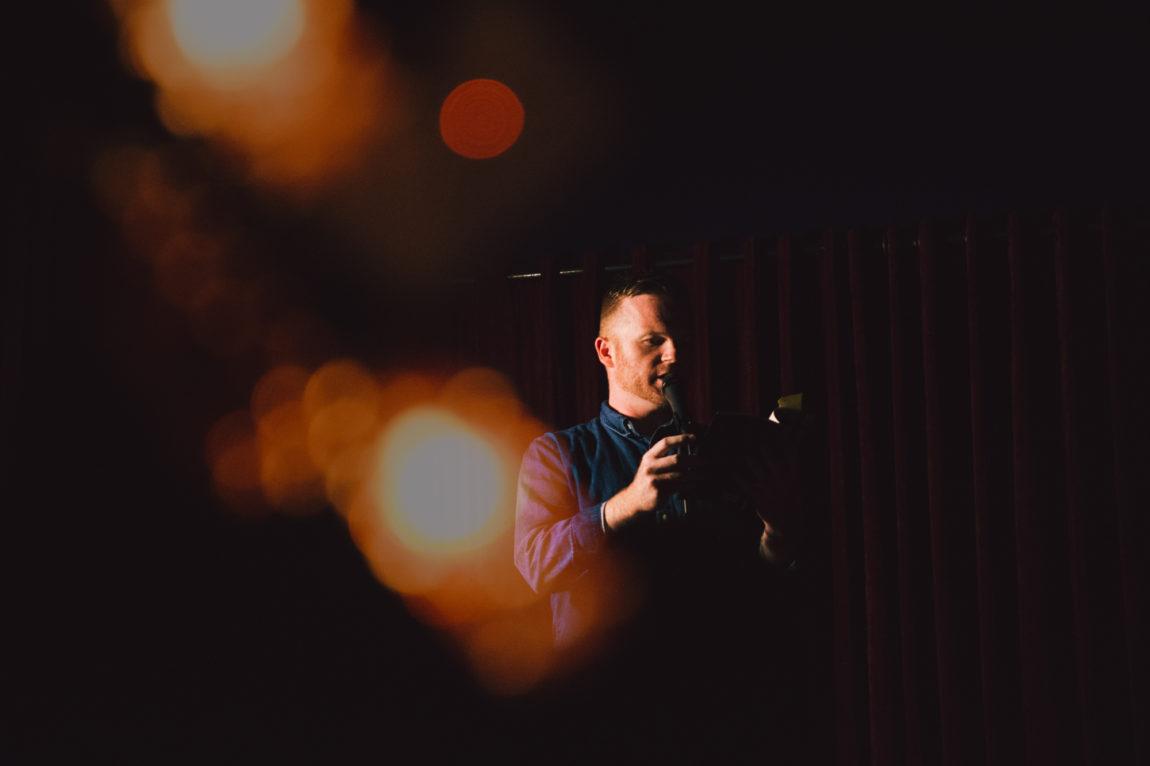 Aidan Chafe at Fine at The Lido, July 2019. Photo by Xinyue Liu.