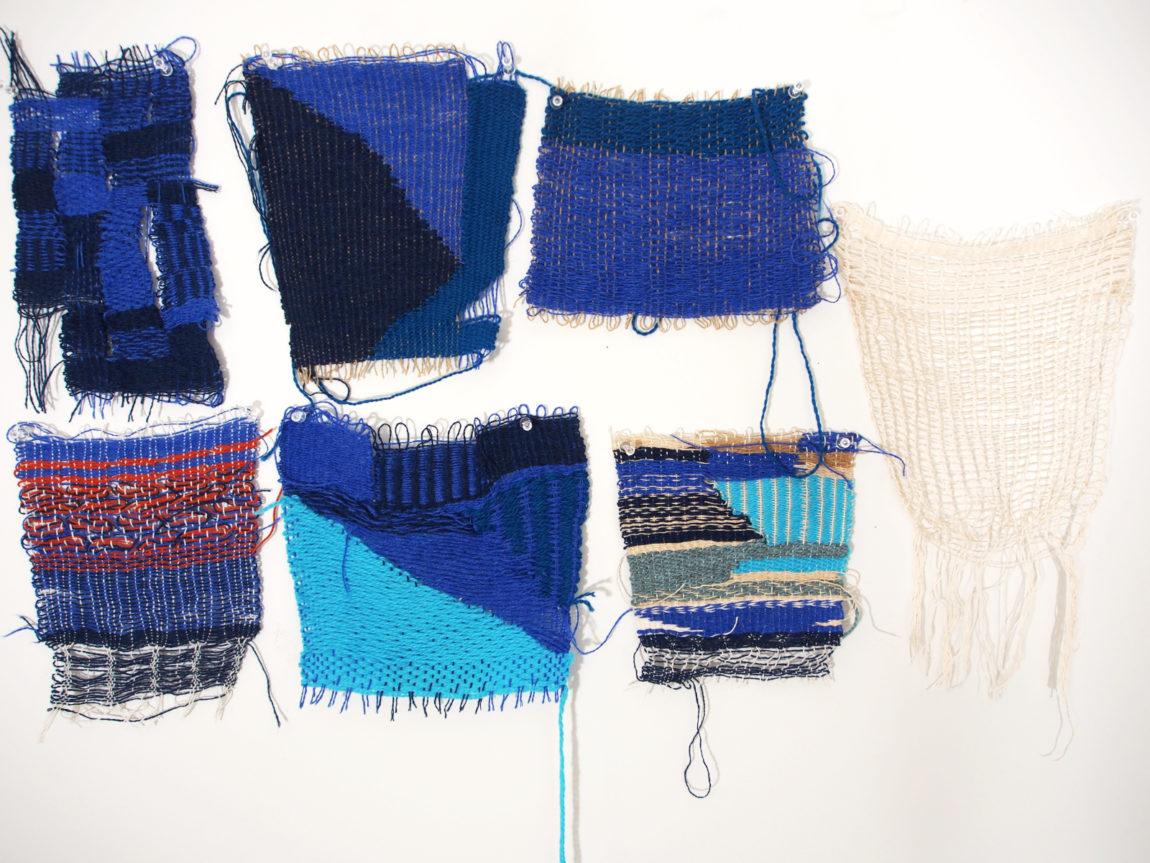 A Week of Weavings. Photograph by Sasha Krieger